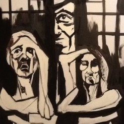 """Without words, """"Parole in gabbia"""", in progress......2013"""